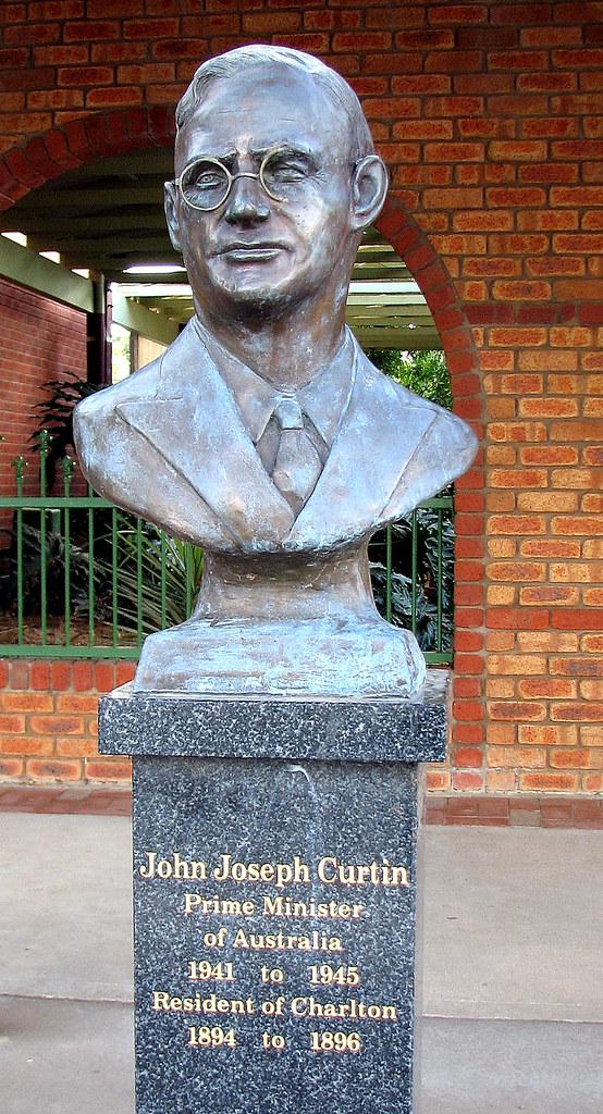 Bust of John Curtain