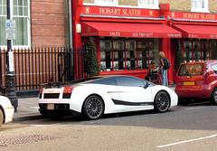 Lamborghini Gallardo LP560-4 SUPERLEGGERA (SamismagiC) Tags: auto street uk white london car automobile sam spot arab saudi incredible lamborghini luxury supercar spotting gallardo superleggera worldcars lp5604 samismagic
