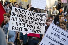 Power of Love (Isle of Sam) Tags: london st corporate cathedral britain political politics protest streetphotography photojournalism pauls banks greed banking wealth occupy wearethe99 occuplylondonlsx