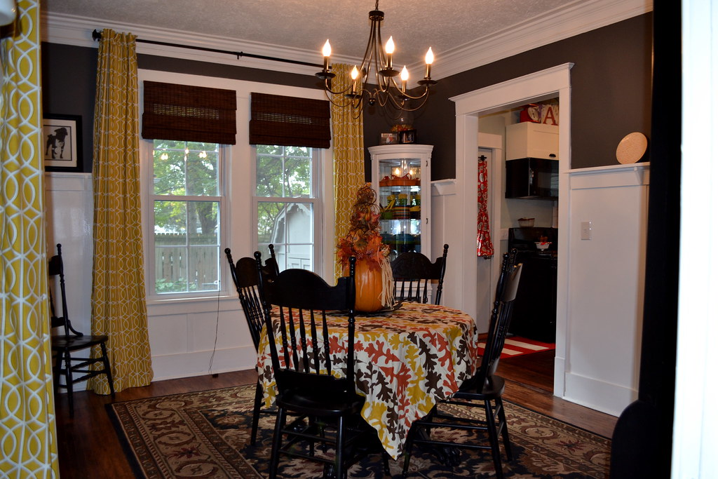 Finish dining room curtains - NewlyWoodwards