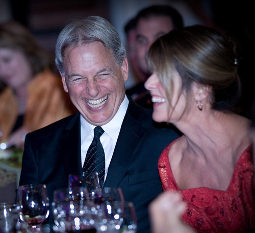 Mark Harmon and Pam Dawber