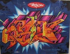 Thunderstorm (tatscruinc) Tags: streetart graffiti bio burner blackbook nicer tatscru bg183 totem2 themuralkings dirtypilot