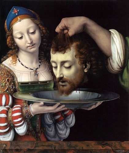 Andrea Solario - Salome with the Heat of Saint John the Baptist by Gandalf's Gallery