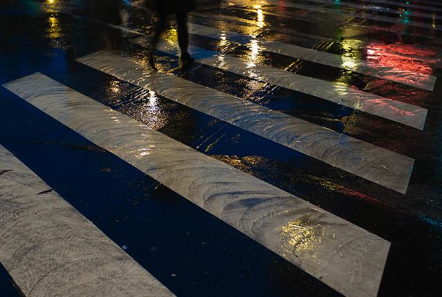 aussi sous la pluie