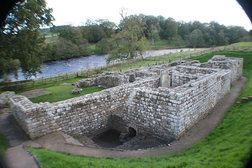 Bathhouse at Chesters Roman Fort