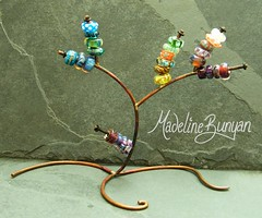 """a treeful of silver cored beads • <a style=""""font-size:0.8em;"""" href=""""https://www.flickr.com/photos/37516896@N05/6266168097/"""" target=""""_blank"""">View on Flickr</a>"""