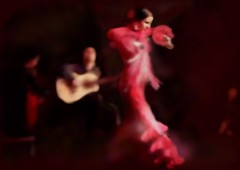 Flamenco and Guitars (Pat McDonald) Tags: ballet espaa argentina dance sevilla spain ballerina seville bale gibraltar guitarist flamenco dans ballo inten