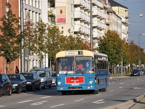 MAN Bus 4632 auf dem Weg zum MVG Museum.