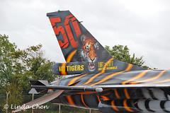FA-87 - F-16A [Belgian Air Force] 50 Years of NATO Tigers 1961-2011 'Hard to be Humble' (pix42day) Tags: uk tiger glos fairford riat f16a belgianairforce hardtobehumble tigermarkings fa87 19612011 royalinternationalairtatoo2011 40yearsofairtatoo 50yearsofnatotigers