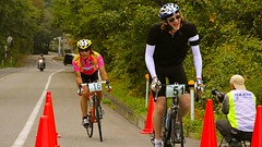 Hill Climb in Daisen - Bicycle Race