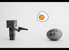 Kill the egg !! ( Hector Alonso) Tags: toy amazon yotsuba danbo boxman revoltech danboard danboo