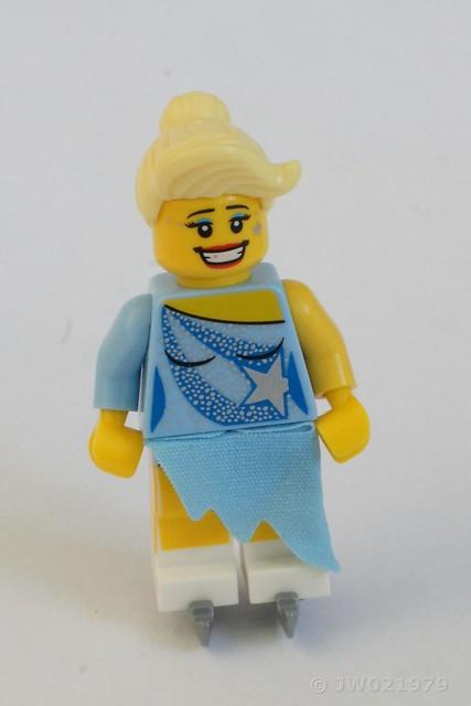 Lego Figure Skater Minifigure