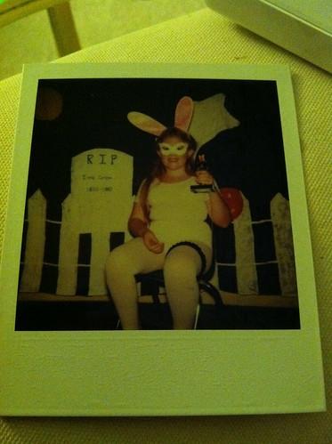 Halloween Past - playboy bunny