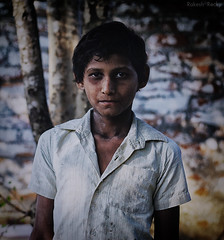 The Portrait of a Child Labour (Rakesh Rocky) Tags: childlabour rakeshrocky