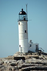 Lighthouse at Isle of Shoals