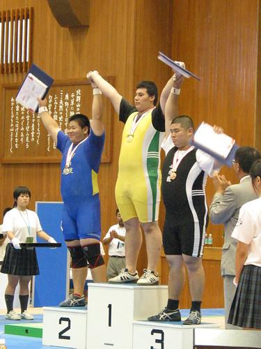 日本のエース、太田和臣選手の島根インターハイでの写真