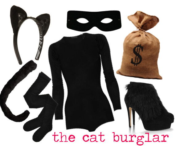 Halloween DIY: Cat Burglar Costume