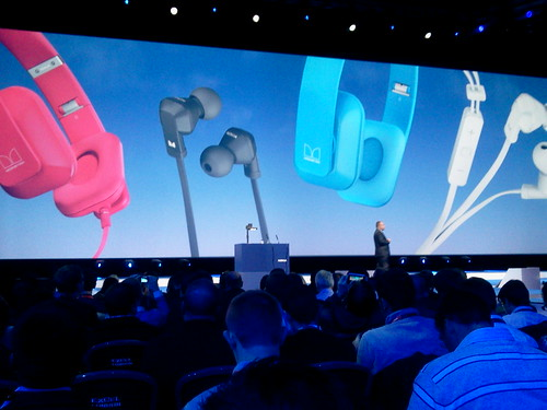 Nokia Purity headsets, collaborating with Monster.