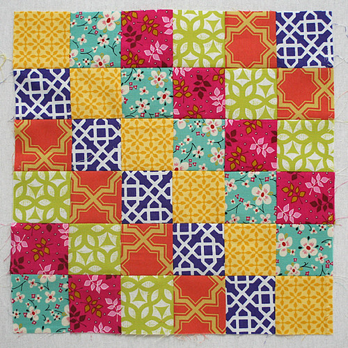 Do Good Stitches - Around the World block