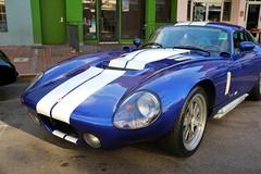 Gaslamp Cars - Cobra Daytona Coupe - Front (Driven to Capture 2) Tags: show car racecar sandiego district gaslamp dogeram