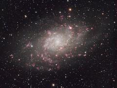 Messier 33 - The Triangulum Galaxy (Mickut) Tags: m33 triangulumgalaxy Astrometrydotnet:status=solved messier33 Astrometrydotnet:version=14400 komakallio sxvrh18 kolmiongalaksi Astrometrydotnet:id=alpha20111059788953