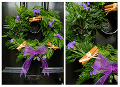 Christmas Wreath (Vicky Spence) Tags: