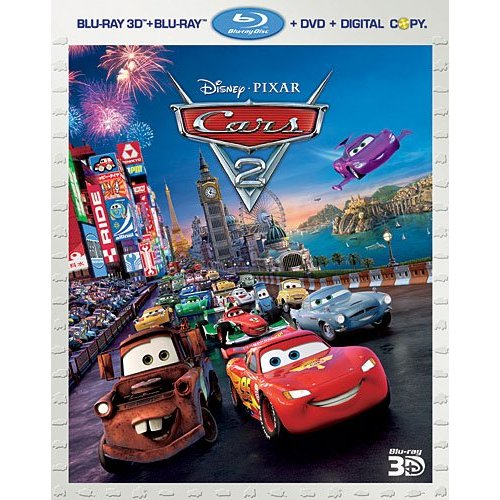 Cars 2 Five-disc Combo