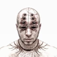Spiderman (dracorubio) Tags: light man face monster photoshop dark spider eyes spiderman evil creepy horror demon