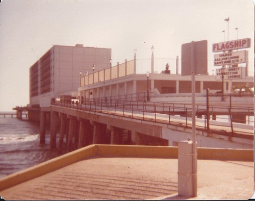 The USS Flagship Hotel / Now Demolished To Build Pleasure Pier