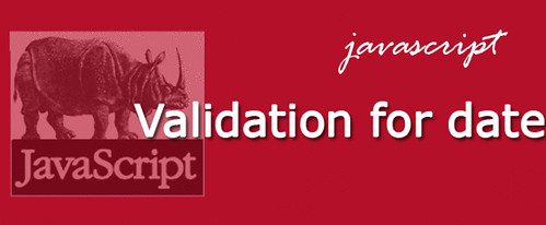 Simple JavaScript validation for dates | Anil Labs