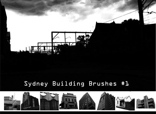 building photoshop brushes