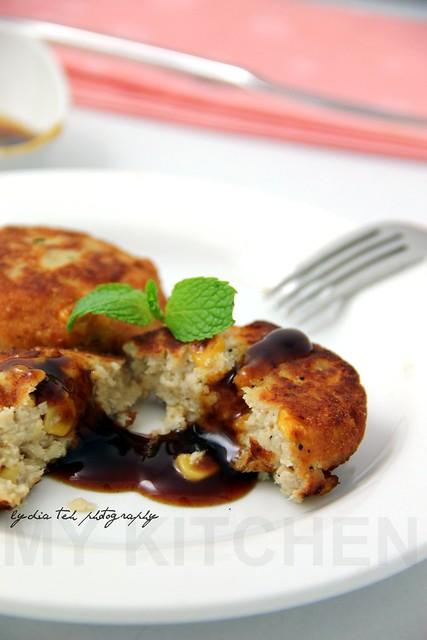 Pork-Okara Hamburger