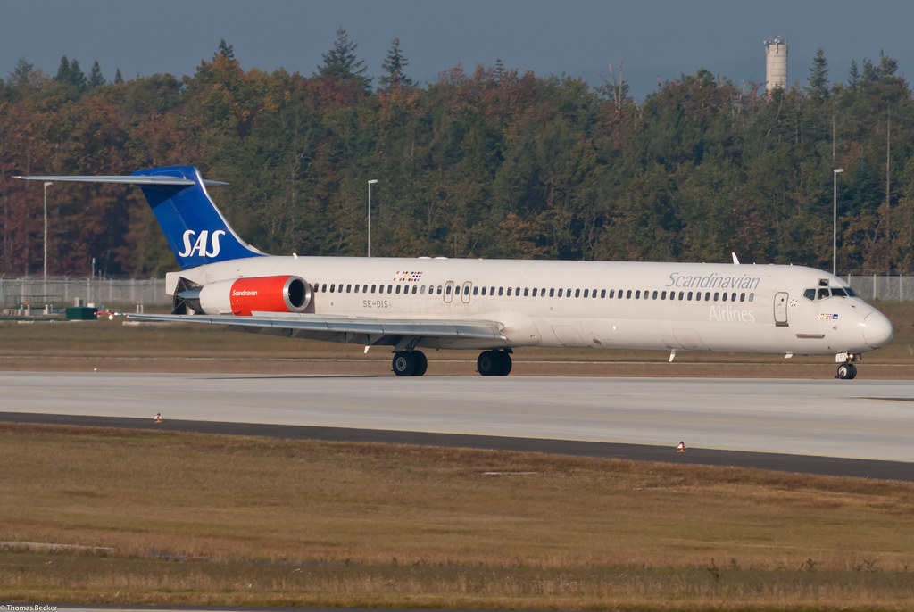 Scandinavian Airlines (SAS) McDonnell Douglas MD-81 SE-DIS Sigmund Viking (75079)