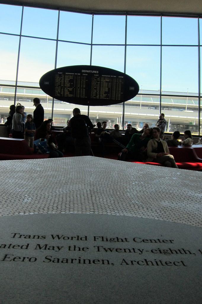 NYC - JFK Airport: TWA Flight Center