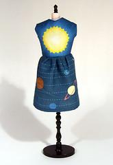 Blythe Solar System Dress