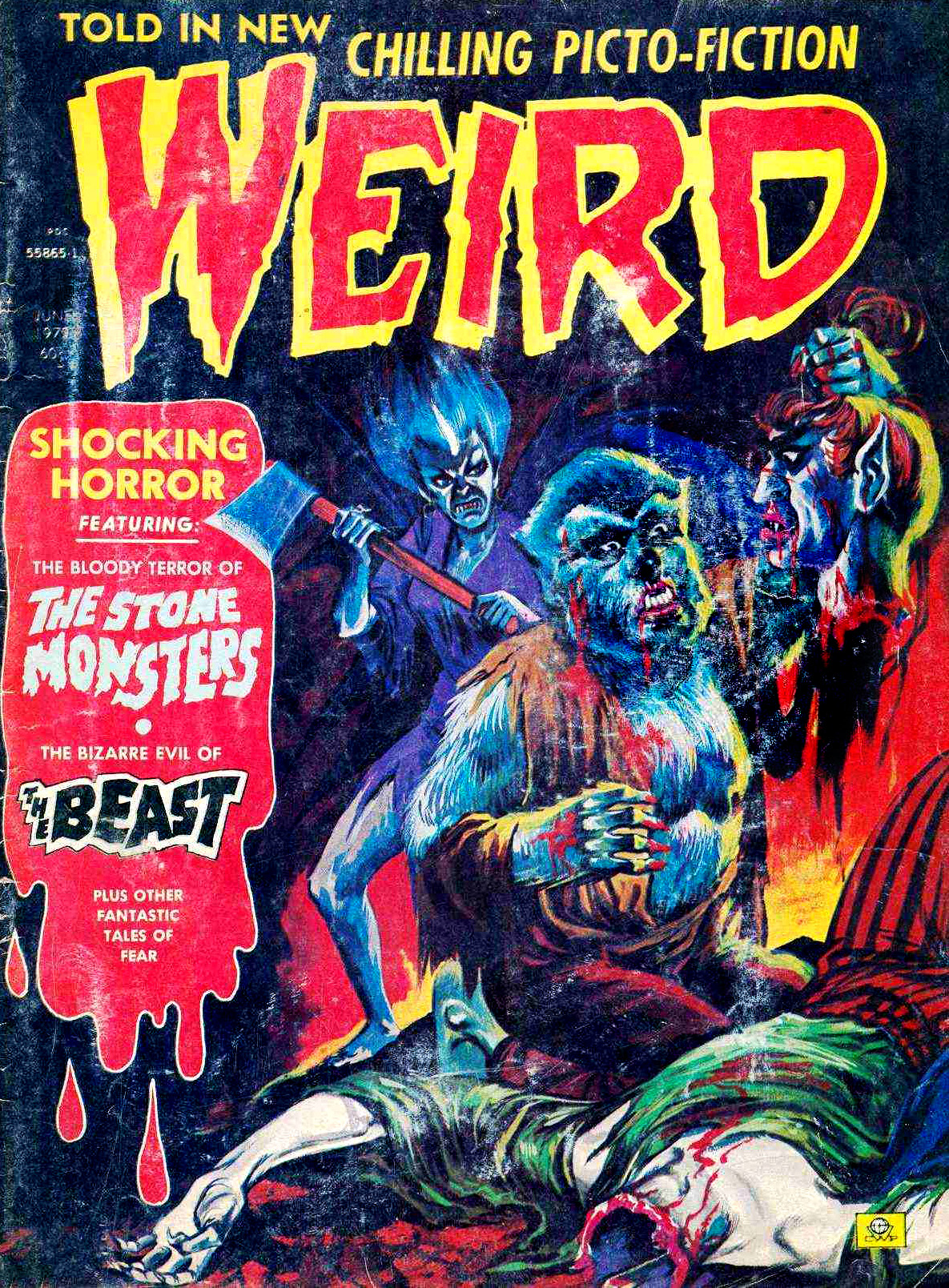 Weird Vol. 06 #4 (Eerie Publications, 1972)