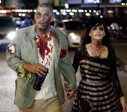 zombie couples costumes
