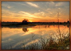 Sunset (Suzanham) Tags: sunset sun lake nature sundown waterscape fantasticnature absolutelyperrrfect