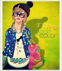 *Show Me Your Color* (aiko) Tags: 9 av 1mm epoque derniercri surfcouture nerdp {bingo}