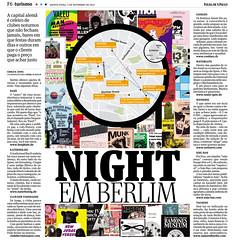 Night em Berlim (xbolotax) Tags: news berlin bandeira night germany paper design noite info jornal folha berlim alemanha danilo periodico bolota folhadespaulo