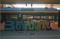 15 (mr spietkong) Tags: holland film netherlands station analog train graffiti photo foto ns nederland trein spoorwegen nederlandse analoog