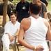 Rahul Gandhi during a 'chaupal' in Jaunpur, U.P (5)