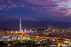 A.... Bishanyen, Taipei (yameme) Tags: longexposure sunset night eos nightshot taiwan taipei taipei101      101   flickraward  5dmarkii bishanyen flickraward5 mygearandme flickrawardgallery