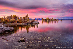 Alien Sunset (James Neeley) Tags: california sunset landscape monolake hdr f12 southtufa 5xp jamesneeley