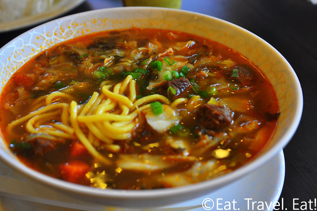 Cha For Tea, Irvine, CA- Beef Noodle Soup
