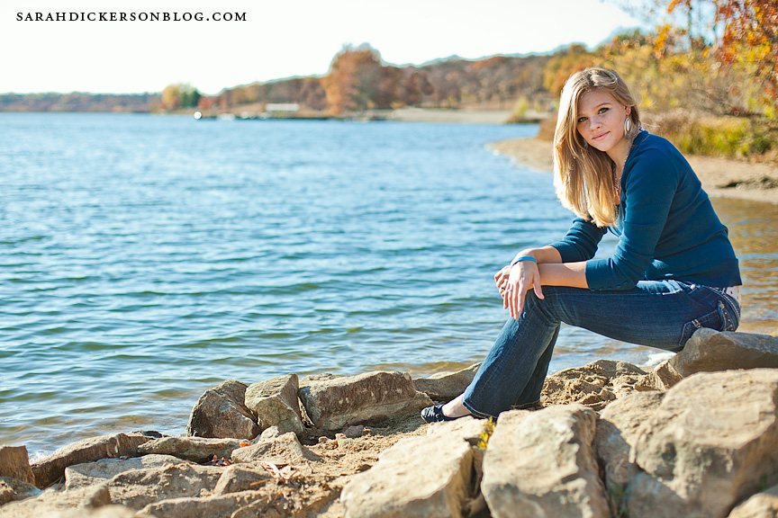 Shawnee Mission Park senior photographers