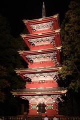 Nikko Tosho-gu (ELCAN KE-7A) Tags: japan pagoda pentax illumination  nikko tochigi toshogu   k7 2011