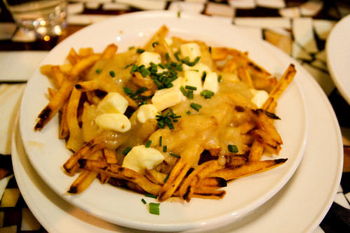 Classic Montreal Poutine at Park Bruges