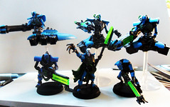 Necrons (Camper_Bob) Tags: miniatures painted warhammer duncan necrons