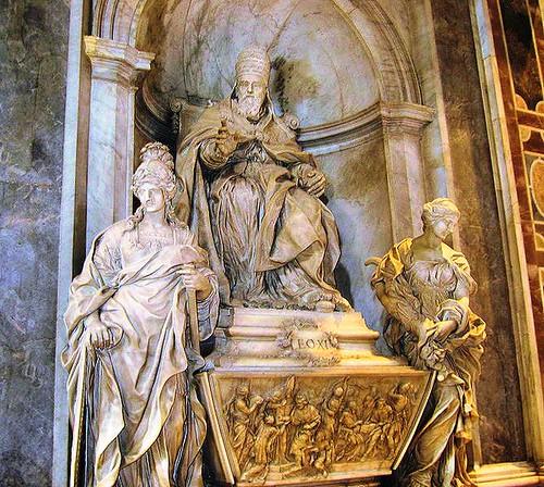 Tumba de Leon XI